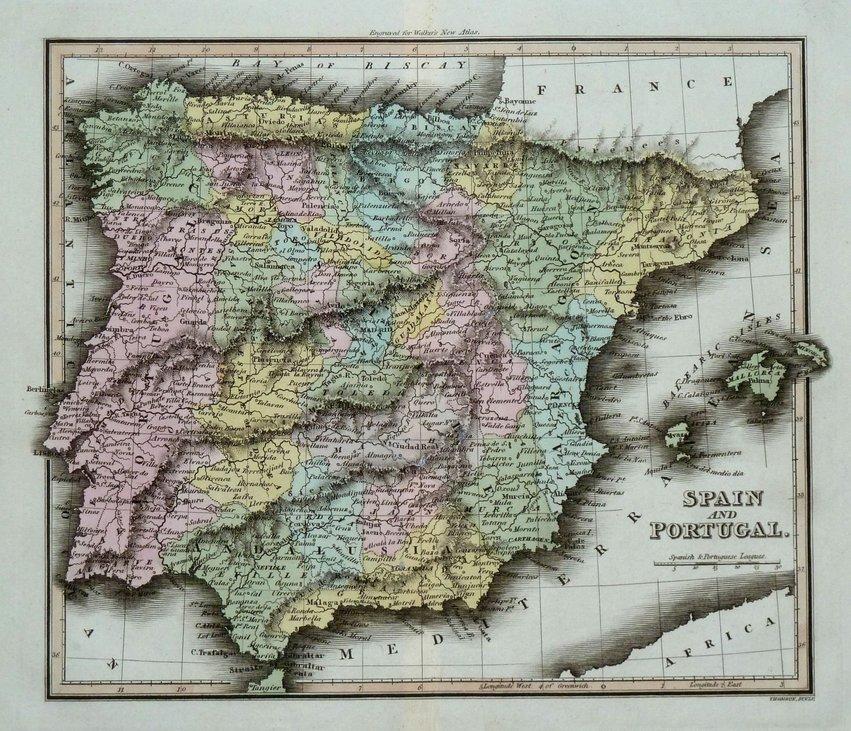 Spain & Portugal. Thomson