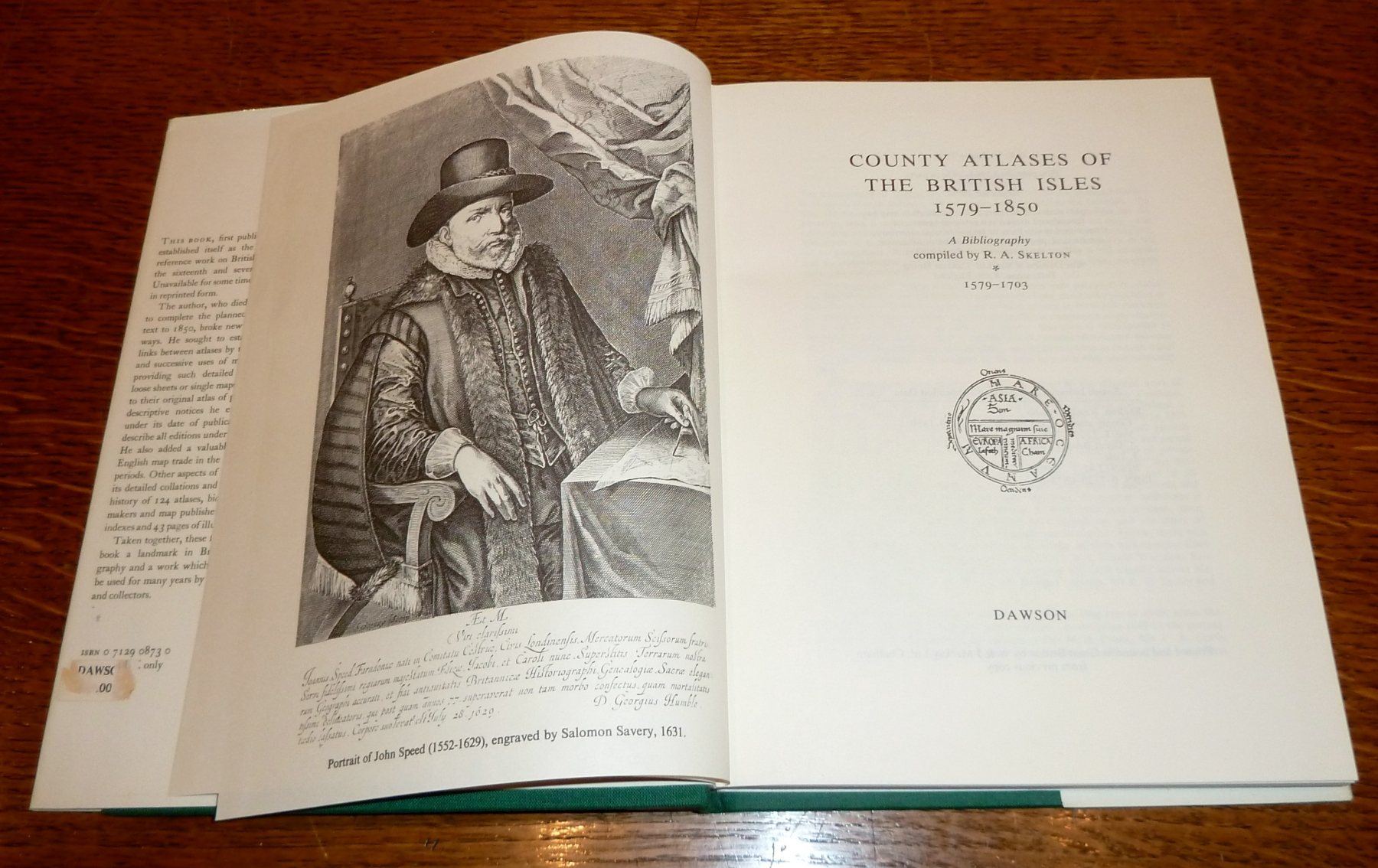 County Atlases of the British Isles 1579-1703