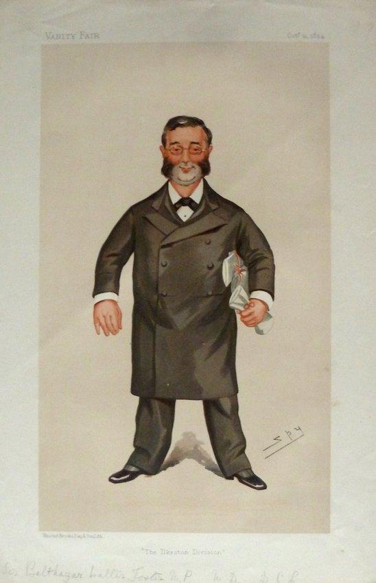 Sir Balthazar Walter Foster