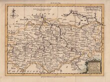 Upper Saxony by Kitchin