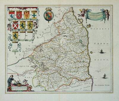Northumberland Maps