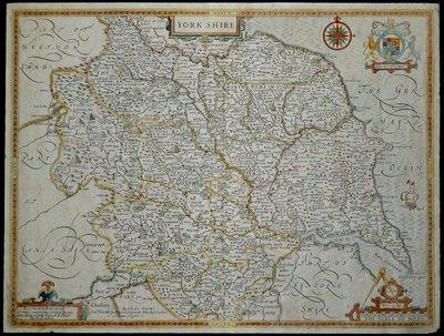 Yorkshire Maps