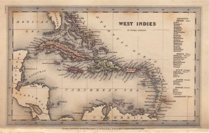 West Indies by Starling