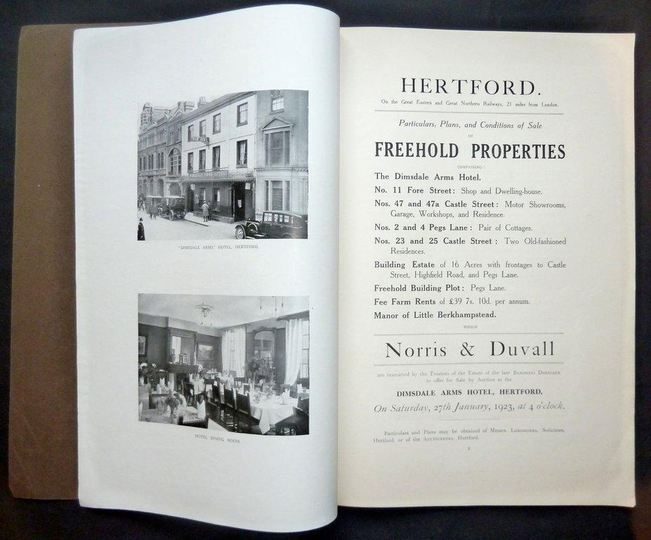 Hertford Dimsdale Arms & Castle Street