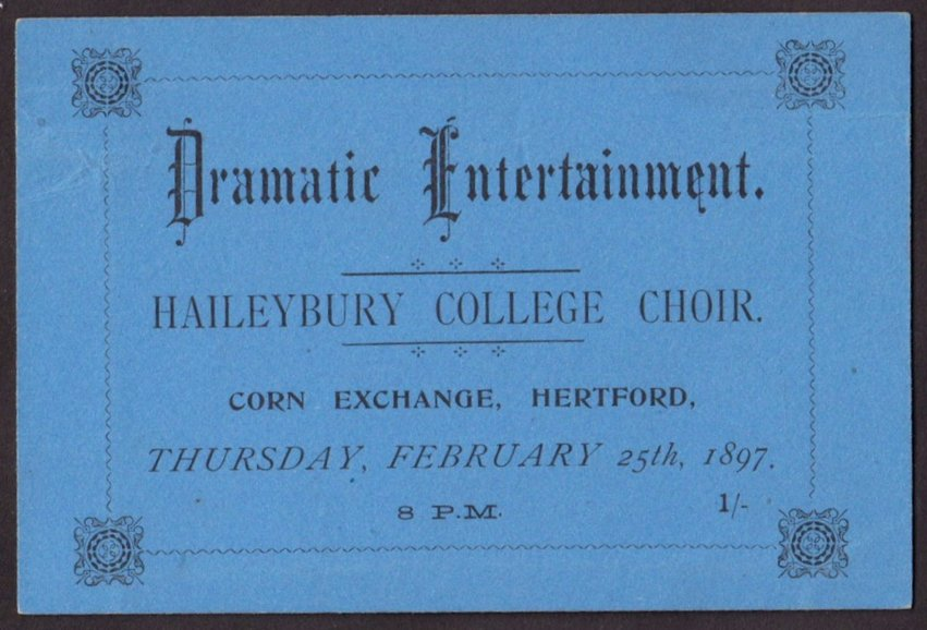Haileybury College Choir
