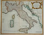Italy, Sicily, Sardinia & Corsica. Seale