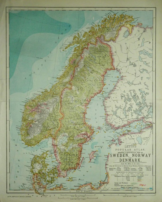 Sweden Norway & Denmark