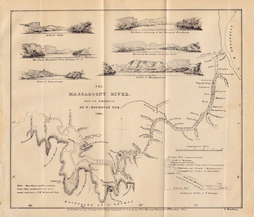 Massaroony River Guyana