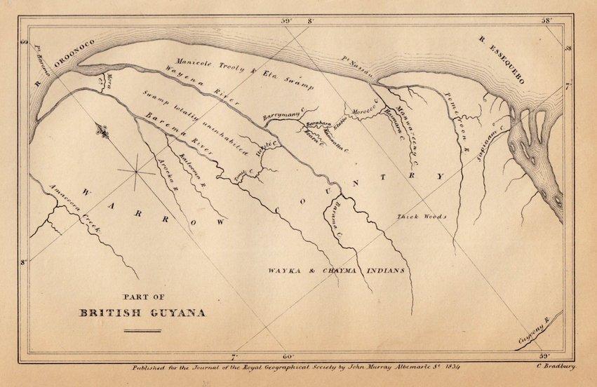 Part of Guyana