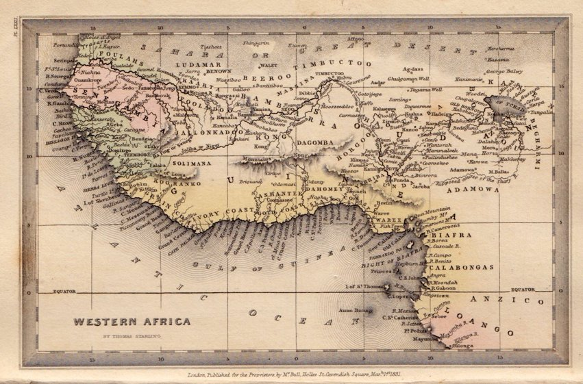 West Africa by Starling