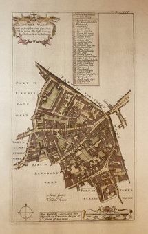 Ward Plans and Parts of London