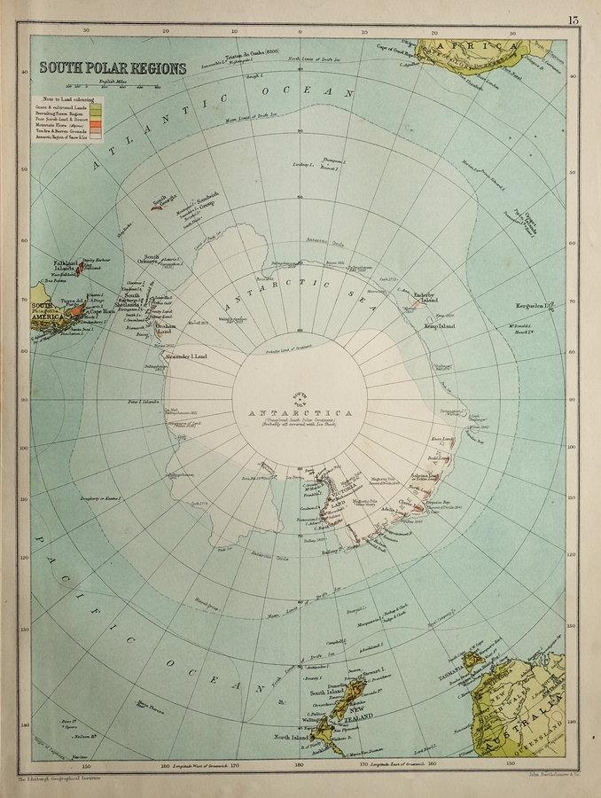 Antarctica by Bartholomew