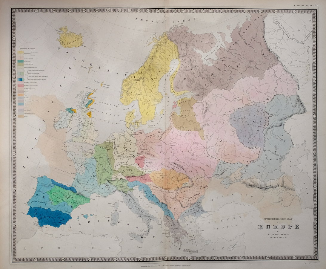 Ethnographic Map