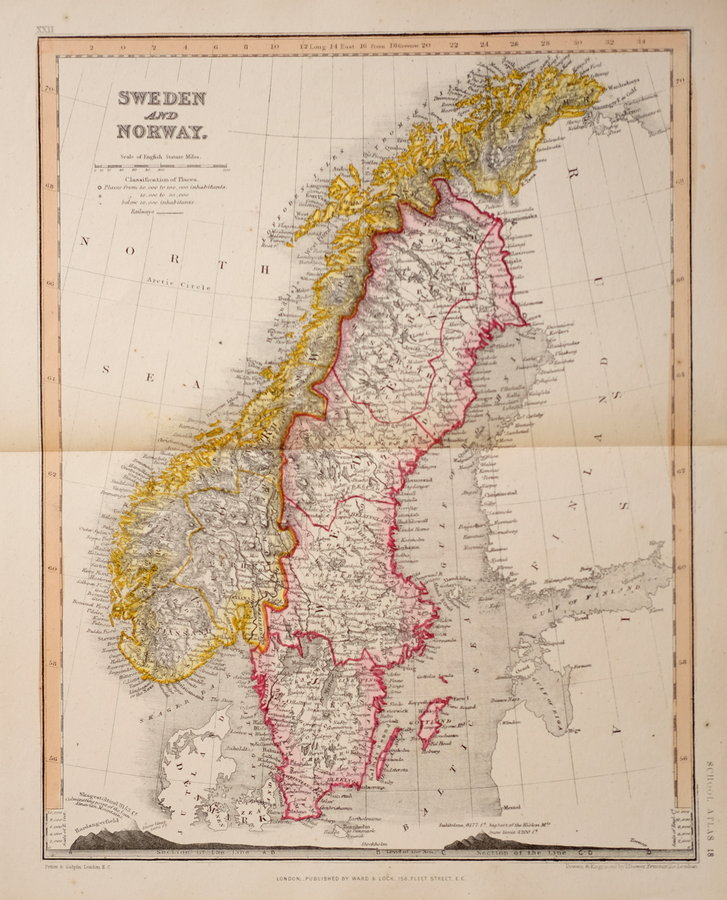 Sweden & Norway by Dower.