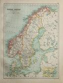 Norway & Sweden by Bartholomew