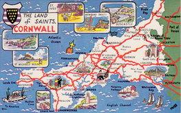 Cornwall Postcard