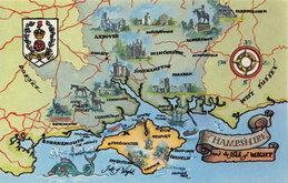 Hampshire & Isle of Wight Postcard