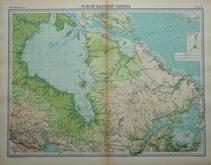 North East Canada by Bartholomew