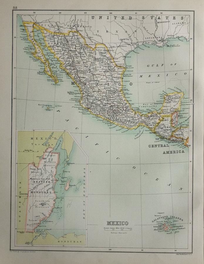 Mexico by Bartholomew