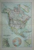 North America by Bartholomew