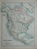 North America by Johnston