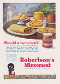 Advert. Robertson's Mincemeat