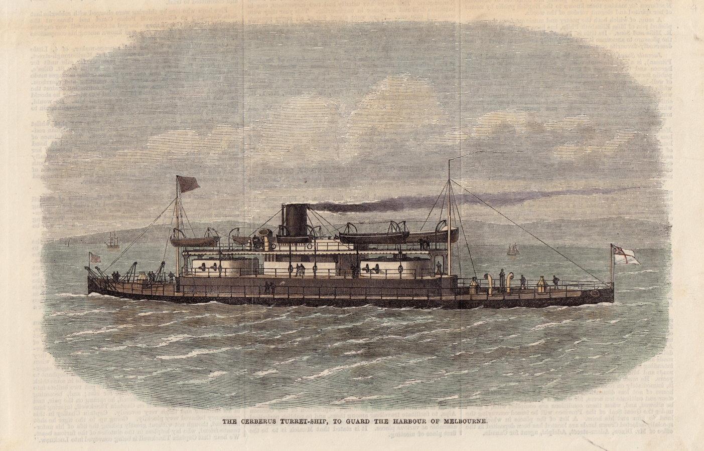 Turret-Ship Cerberus