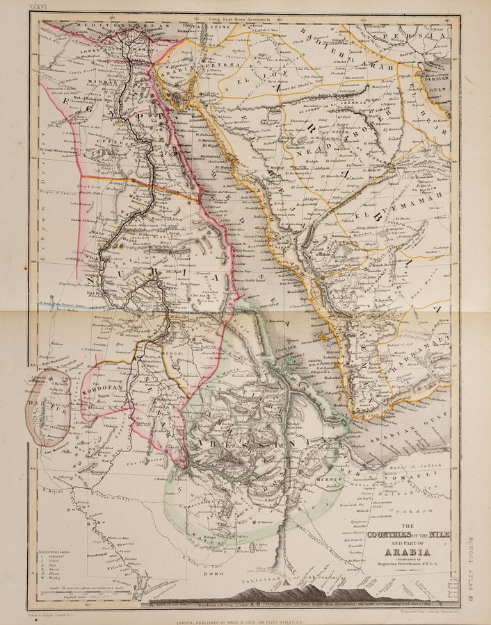 Arabia and Egypt by Dower