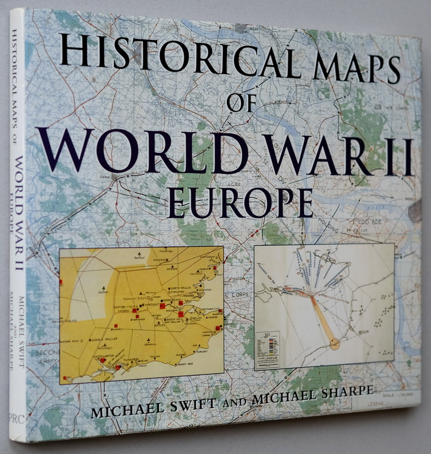 Historical Maps of World War II Europe