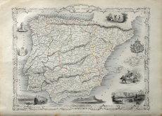 Spain & Portugal. John Rapkin