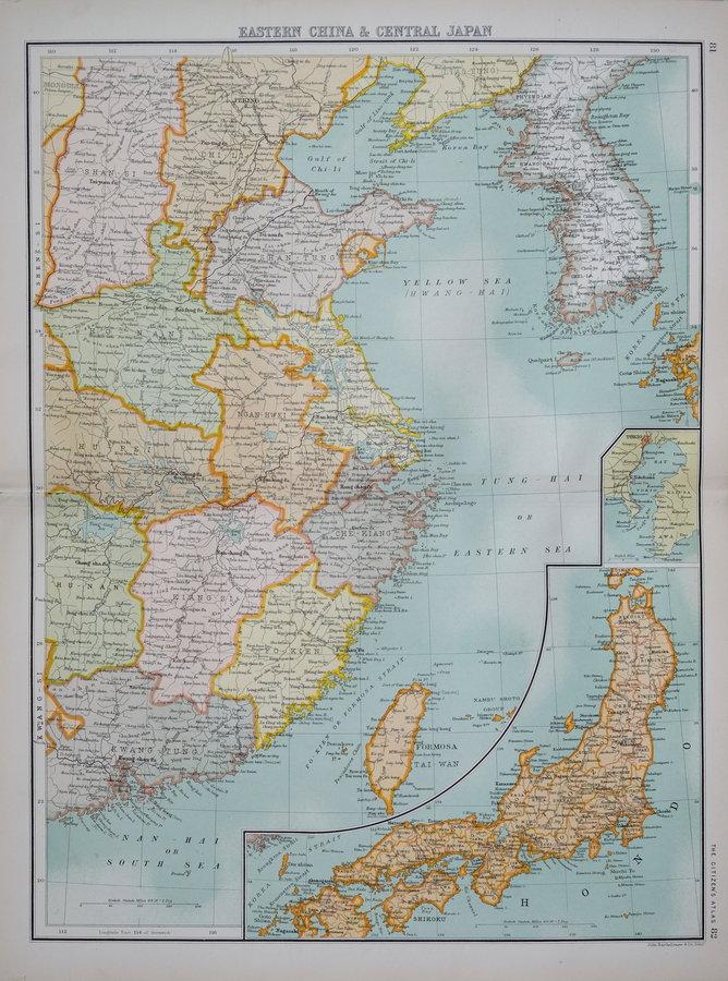 China & Japan - Bartholomew
