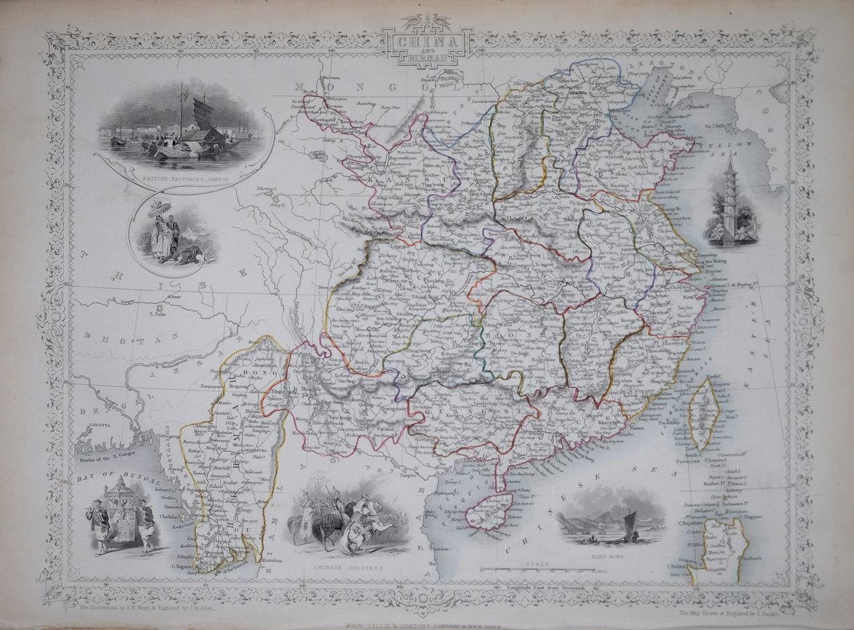 China & Myanmar - Tallis