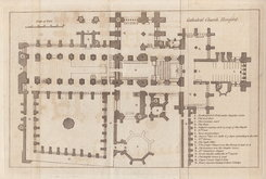 Hereford Cathedral Plan