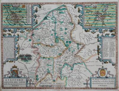 Staffordshire Maps