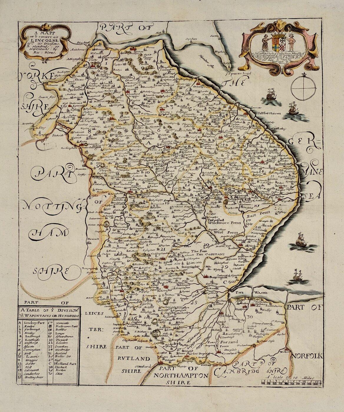 Lincolnshire Maps