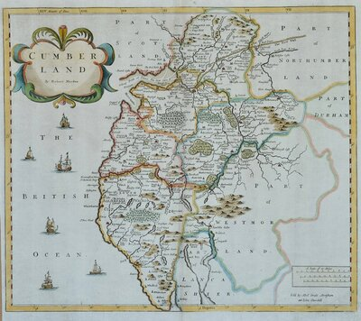 Cumberland Maps
