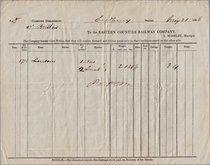 E.C.R. Baggage Record 1858