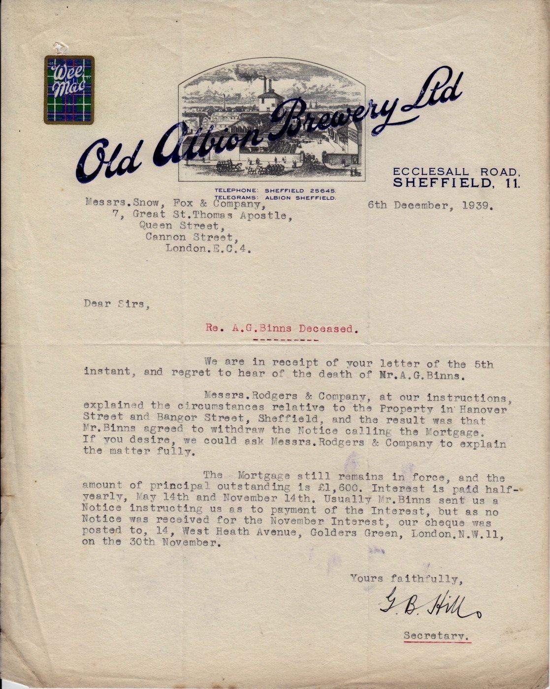 Trade Documents Invoices Receipts & Correspondence