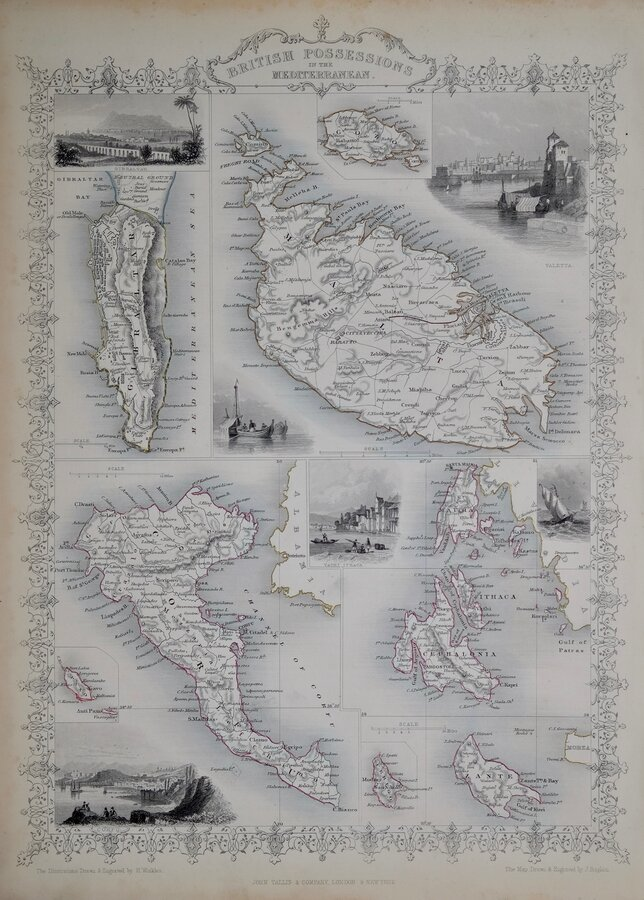 Mediterranean Islands by Tallis