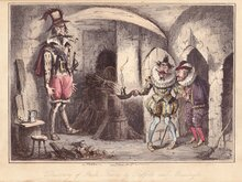 Discovery of Guy Fawkes