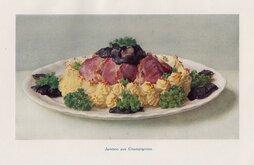Jambon aux Champignons.