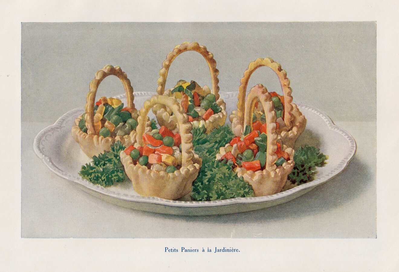 Petits Paniers à la Jardinière.