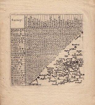 Surrey  Maps
