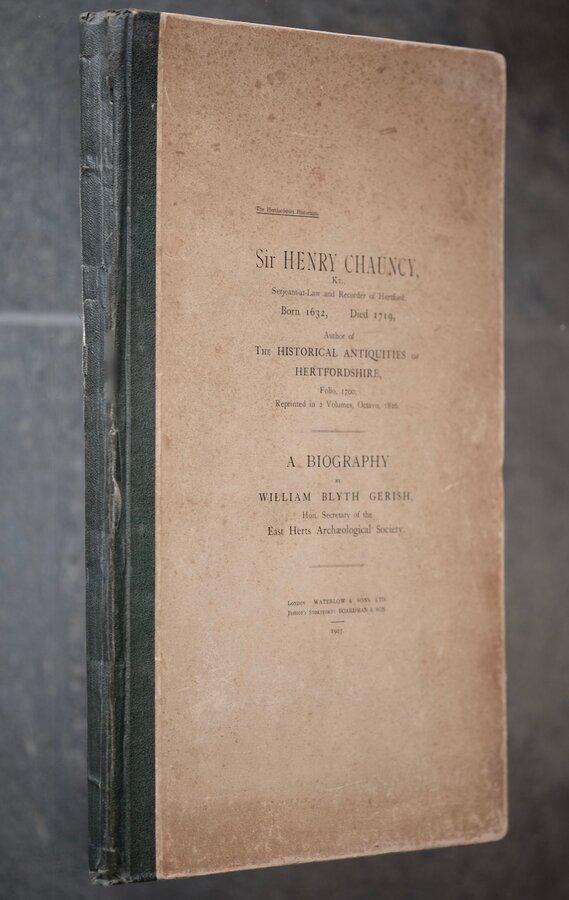 Sir Henry Chauncy