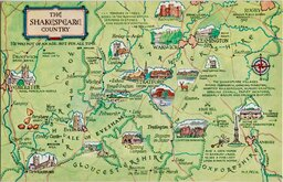 Shakespeare Country Postcard