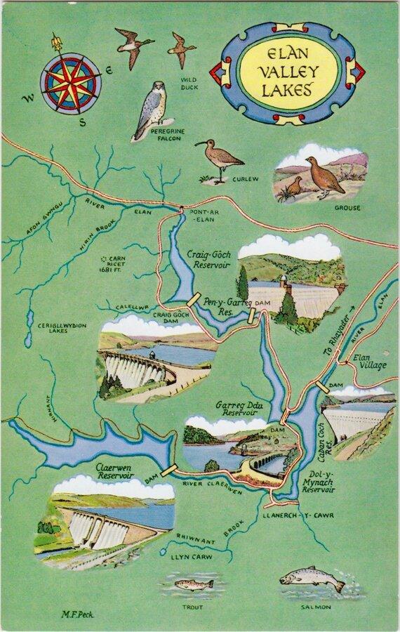 Elan Valley Lakes