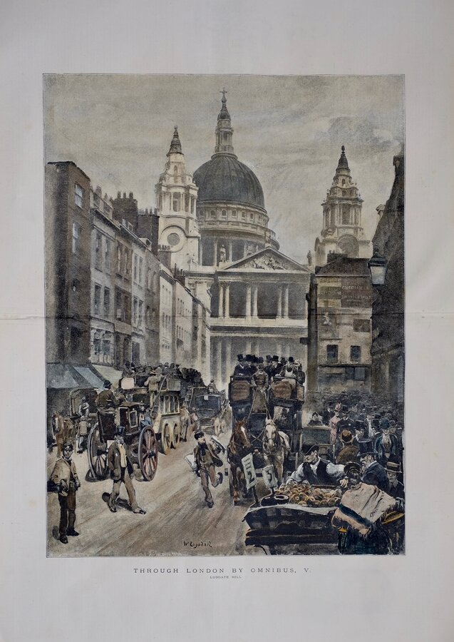 Ludgate Hill & St Pauls Cathedral