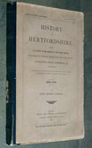 History of Hertfordshire Cassio Hundred