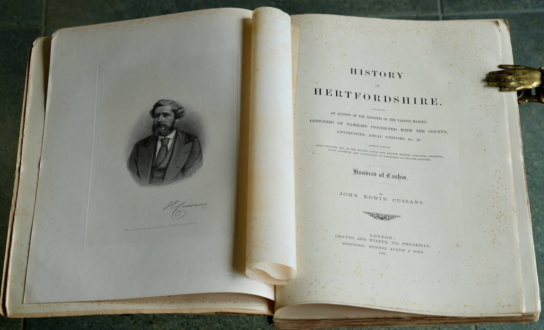 History of Hertfordshire Cassio Hundred