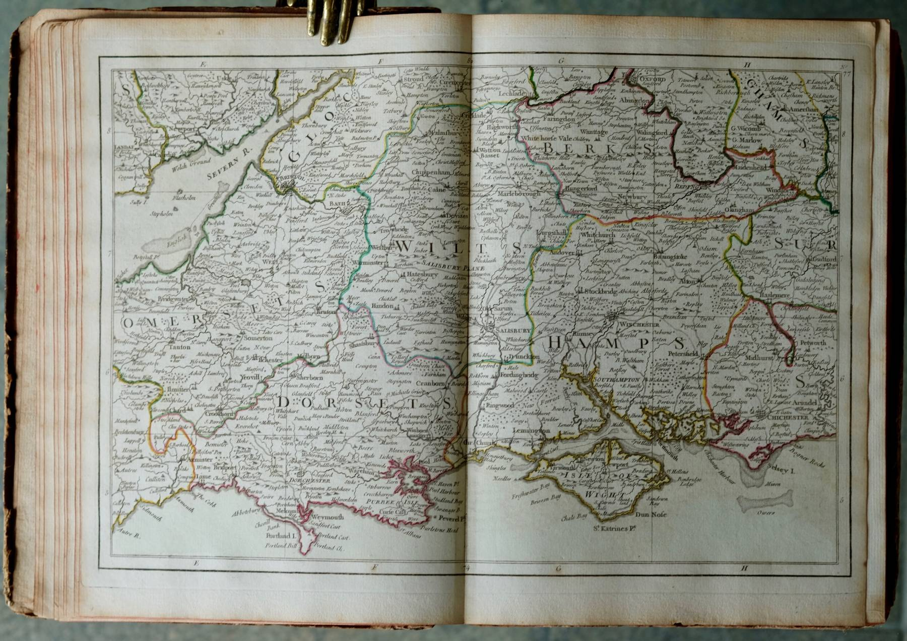 Desnos. Atlas de l'Angleterre.